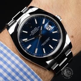 RO22076S Rolex Datejust 41 Unworn Wrist