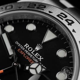 RO22408S Rolex Explorer II Orange Hand Close3
