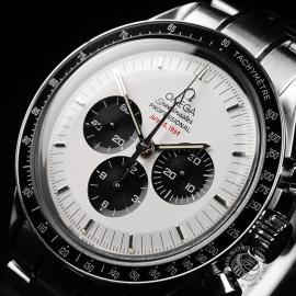 OM21950S Omega Speedmaster Professional Moonwatch Apollo 11 35th Anniversary Close2