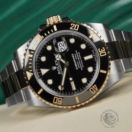 RO22597S Rolex Submariner Date Unworn Close10