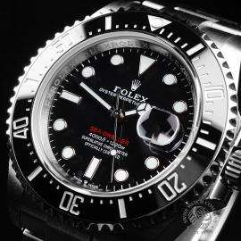 RO21808S Rolex Sea Dweller 50th Anniversary Unworn Close2