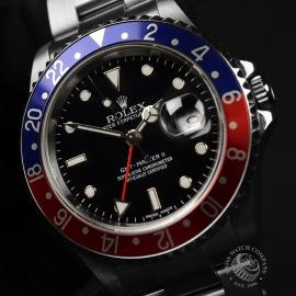 RO20324S Rolex GMT Master II - Stick Dial Close2