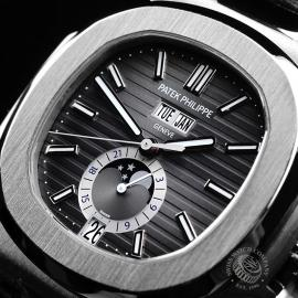 PK21759S Patek Philippe Nautilus Annual Calendar Moonphase Close2