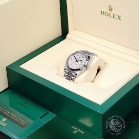 RO22245S Rolex Day-Date 40 Meteorite Unworn Box