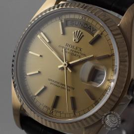 RO21796S Rolex Vintage Day-Date 18ct Close1