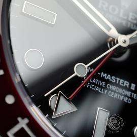 RO21767S Rolex GMT-Master II BLRO Close6