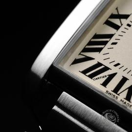 CA21842S Cartier Tank Francaise Midsize Close5