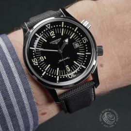 LO22362S Longines Legend Diver Date Wrist 1