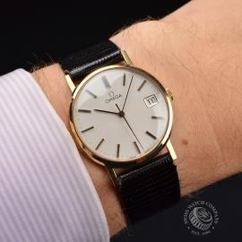 OM19632S Omega Vintage 9ct Gents Dress Watch Wrist