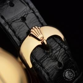 21396S Rolex Cellini Date 18ct Everose Close4 3