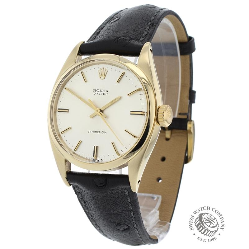 Rolex Vintage Oyster Precision 9ct Gold
