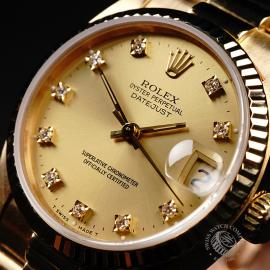 RO21949S Rolex Datejust 18ct Mid-Size Close2