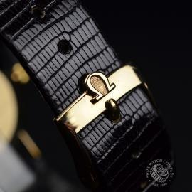 OM19632S Omega Vintage 9ct Gents Dress Watch Close4