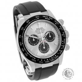 RO22128S Rolex Cosmograph Daytona White Gold Unworn Dial