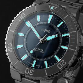 OR22678S Oris Aquis Source Of Life Limited Edition Close1