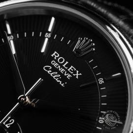 RO22753S Rolex Cellini Dual Time Close3