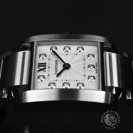 CA21054S Cartier Ladies Tank Francaise Small Model Close9 1