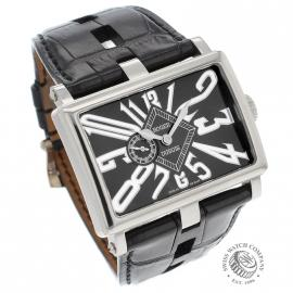 1352P Roger Dubuis TooMuch 18ct White Gold Dial