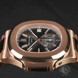 PK22578S Patek Philippe Nautilus Chronograph Rose Gold Close6