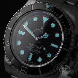 RO21834S Rolex Submariner Non Date Ceramic Close1