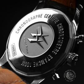 BR19708S Breitling Transocean Chronograph Unitime Close9