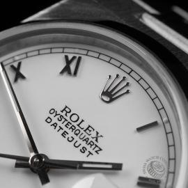 RO22261S Rolex Datejust Oysterquartz Close3