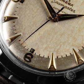 OM-734F Omega Vintage Seamaster Close 4