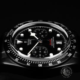 TU22227S Tudor Heritage Black Bay Chronograph Dark Close6