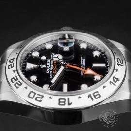 RO22474S Rolex Explorer II Orange Hand Unworn Close6