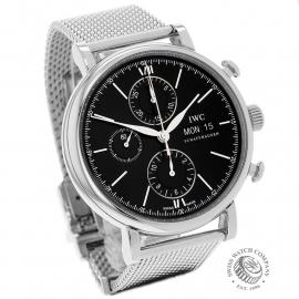IW21825S IWC Portofino Chronograph Dial