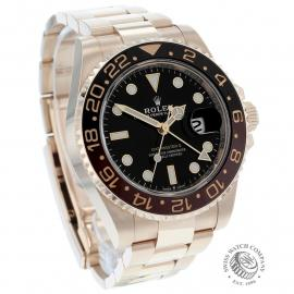 RO22050S Rolex GMT-Master II 18ct Everose Gold Dial