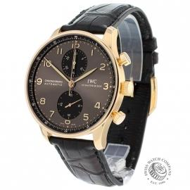 IWC Portuguese Chrono 18ct Rose Gold