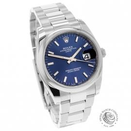 RO21737S Rolex Oyster Perpetual Date Dial