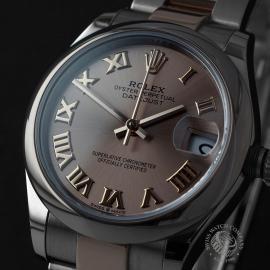 RO22560S Rolex Ladies Datejust Midsize Close1