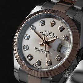 RO22235S Rolex Ladies Datejust Close1