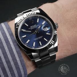 RO22477S Rolex Datejust 41 Unworn Wrist