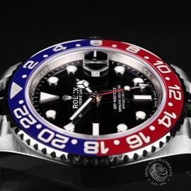 RO22120S Rolex GMT Master II BLRO Close5