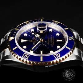 RO22203S Rolex Submariner Date Close 6