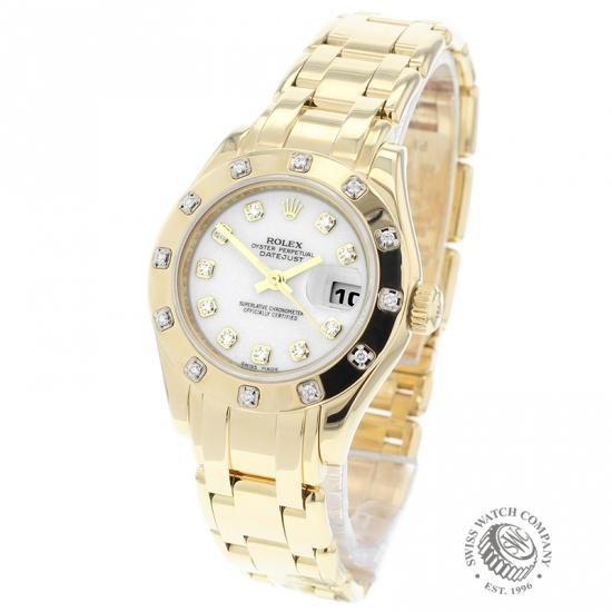 Rolex Ladies Pearlmaster