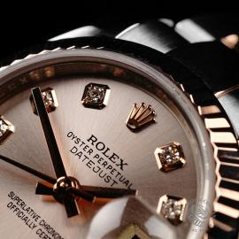 RO22235S Rolex Ladies Datejust Close3