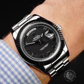 RO21972S Rolex Day-Date II Wrist
