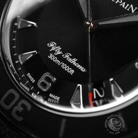 BL19823S Blancpain Black Knight Fifty Fathoms Automatic Close5