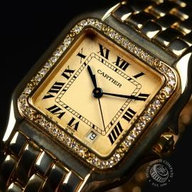1863F Cartier Ladies Panthere 18ct Close2