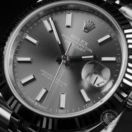 RO22583S Rolex Datejust 41 Unworn Close2