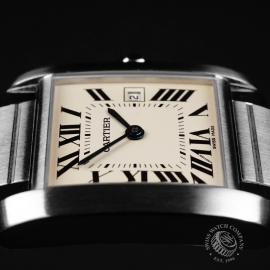 CA21842S Cartier Tank Francaise Midsize Close7