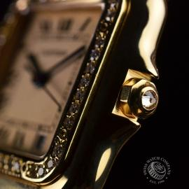 1863F Cartier Ladies Panthere 18ct Close1