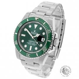 Rolex Submariner Date Green Bezel 2018
