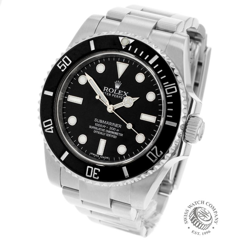 Rolex Submariner Non Date Ceramic