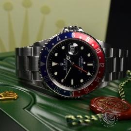 RO20324S Rolex GMT Master II - Stick Dial Close17