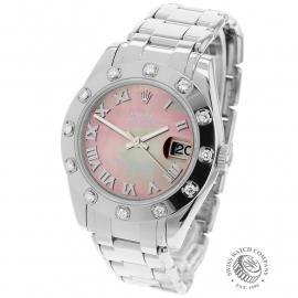 RO22303S Rolex Ladies Pearlmaster Back